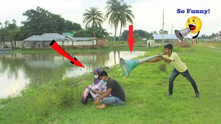 Big Loud Scream Scary Prank 2021😱 With Indian Couple💑try to not laugh