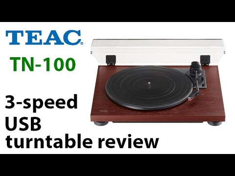 TEAC TN-100 3-speed USB turntable review