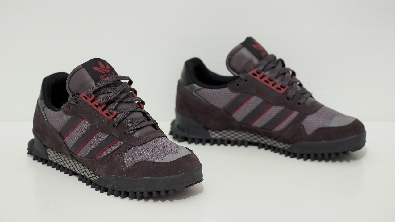 Обзор кроссовок Adidas Marathon TR и Adidas Marathon 10 - YouTube abd0a430ab9