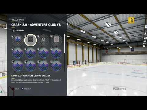NHL 17 Beta Goal Music: Electronic Part 1