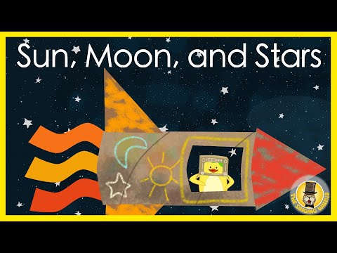 Sun, Moon, And Stars | The Singing Walrus | Songs For Kids