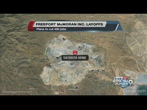 Layoffs Hit Green Valley Mine--Closure Considered