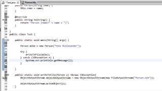 Java - Object Serialization thumbnail