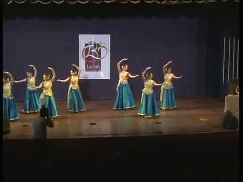 Coke studio Ghir Ghir aayi Advaita Mix... Kathak Jugalbandi by Layom Institute