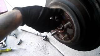 2011 Honda CRV Rear brake pads and rotors/ Задние тормоза