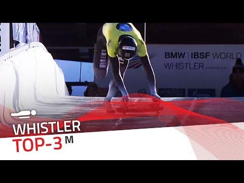 Whistler | Men's Skeleton Top-3 | IBSF Official