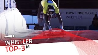 Whistler | Men's Skeleton Top-3 | IBSF Official