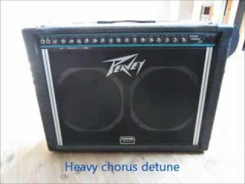 Peavey Stereo Chorus 212 demo video - YouTube on