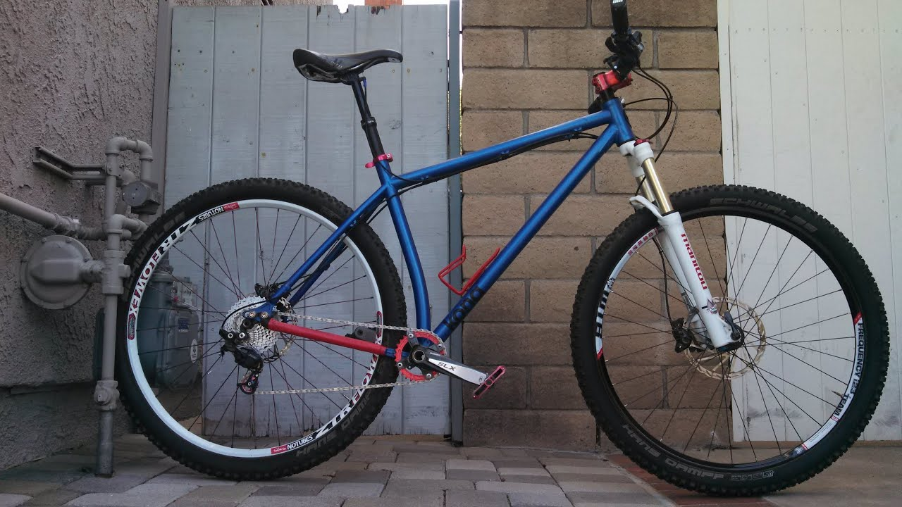 Kona Honzo Shredding A Steel Hardtail 29er Youtube