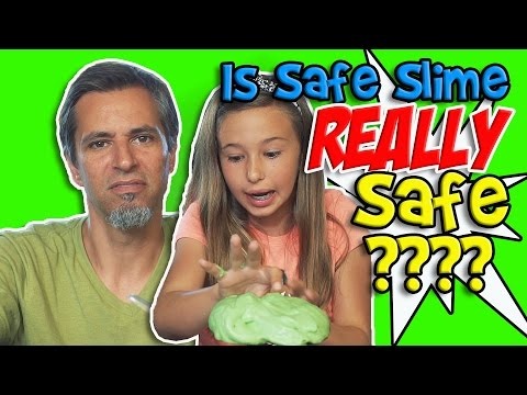 Weekly Daddy Daughter DIY Safe Slime Without Borax | Josh Darnit