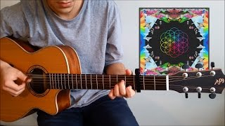 Coldplay - Hymn For The Weekend (Fingerstyle Guitar Cover) by Guus Music