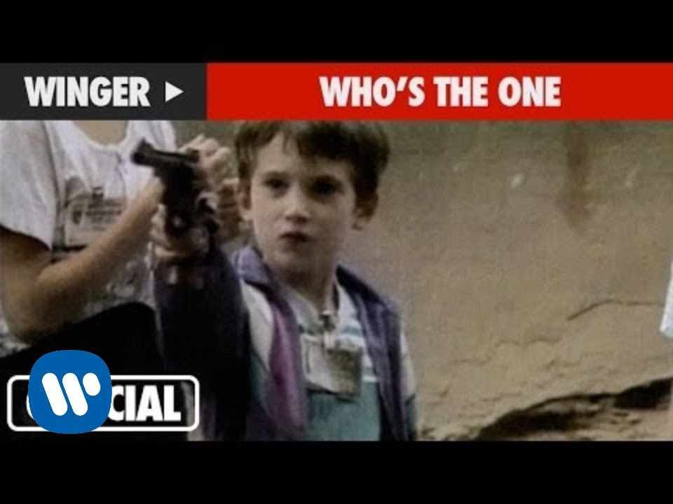 Winger - Who's The One (Official Music Video)