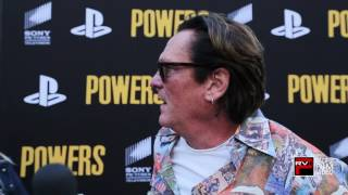 Michael Madsen says he was an odd but right choice to play a superhero in Powers