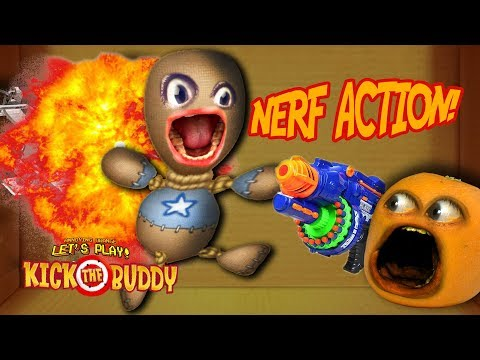 Kick The Buddy: NERF ACTION!