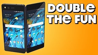 Behold the Dual-Screen Phone! - ZTE Axon M