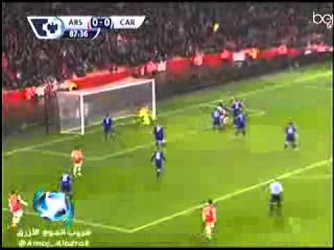 Nicklas Bendtner Goal   Arsenal vs Cardiff 1 0  01 01 2014