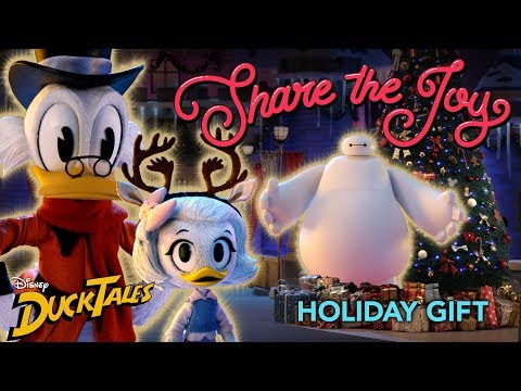 Scrooge's Present 🎁  | Share the Joy | Disney XD