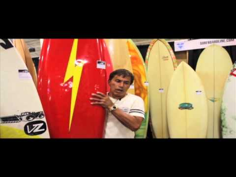 Reno Abellira Talks Story on a 1970's Collaboration Lightening Bolt with Gerry Lopez