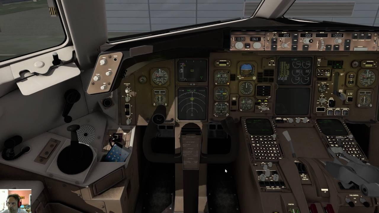 Boeing 767 Professional Flight Factor LKPR - EDDF