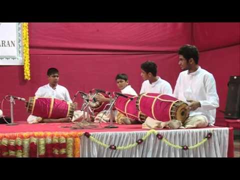 Music Festival 2015 @ Kairali Kala Mandal, Vashi - Day 1 Taniavartanam by batch 4