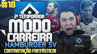 FIFA 16 MODO CARREIRA| HAMBURGER SV| EP18| CONTRATAÇÃO FANTÁSTICA!!