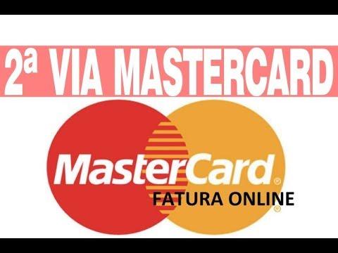 2 Via Cartao Mastercard Fatura Emissao Youtube