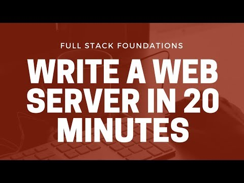 Let's Make A Web Server - Serving Your HTML, CSS And JS Using Node.js And Express.js