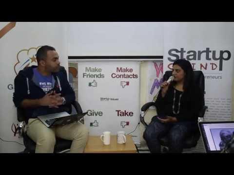 Rahilla Zafar (Cisco) at Startup Grind Gaza