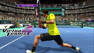 Virtua Tennis 4 - Arcade mode very hard - Djokovic