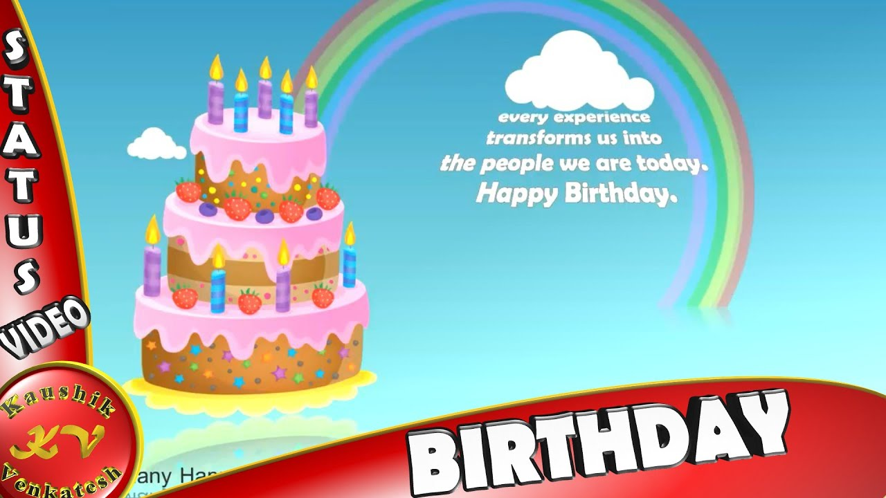 Happy Birthday Greetingswisheswhatsapp Video Downloadquotes