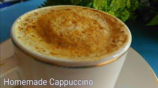 Cream Coffee Recipe ll Homemade Cappuccino Recipe ll Cappuccino Recipe lll
