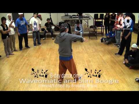 Slim Boogie and Wavomatic (Bday Dance Circle) -Homeland- Long Beach CA