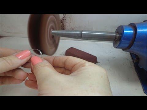 Curso de Ourives - Como Fabricar e Reparar Joias - Como Fazer o Polimento