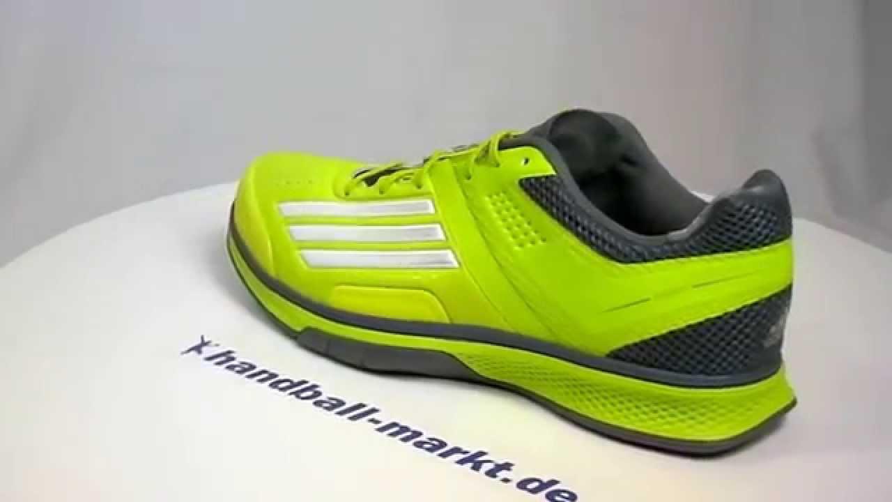 new concept ed38c c9194 Adidas adizero Counterblast 7 Handballschuhe neon grün