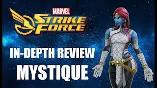 Mystique In-Depth Review - Marvel Strike Force