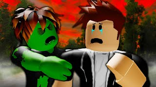 Alone In The Zombie Apocalypse: A Sad Roblox Zombie Outbreak Movie