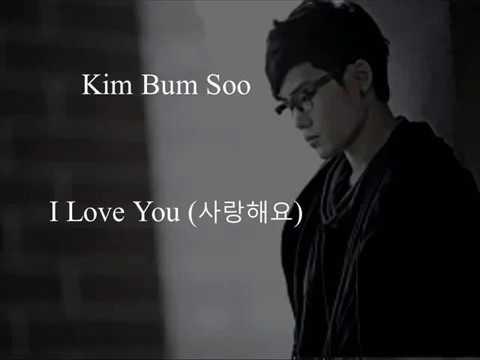 Kim Bum Soo - I Love You (Uncontrollably Fond OST)