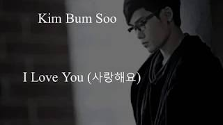 Gambar cover Kim Bum Soo - I Love You (Uncontrollably Fond OST)