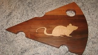Make A Wooden Cheese Board With Inlay - Woodworking