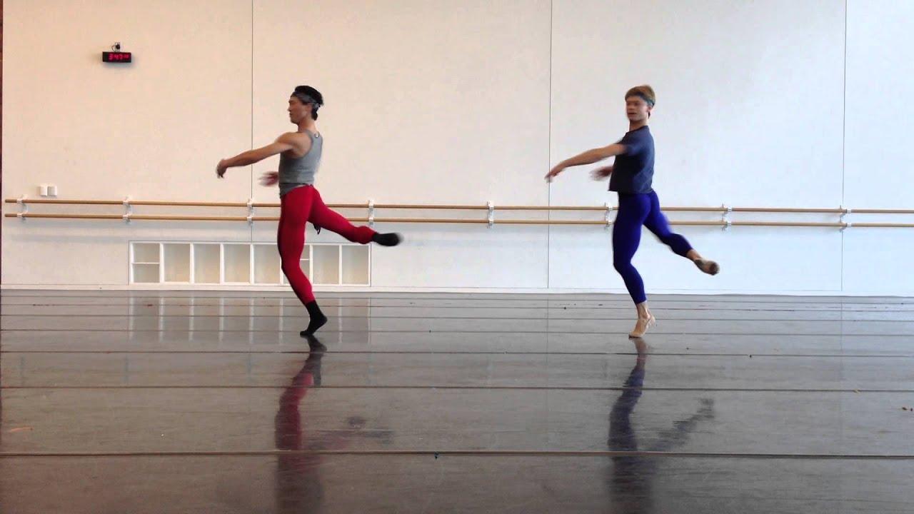 derek dunn and jim nowakowski pirouette combination