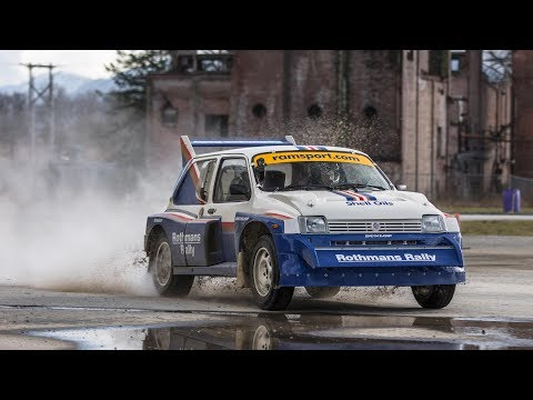 Alister McRae... in an MG METRO 6R4??