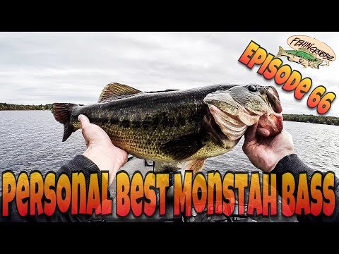 New Personal Best Monstah Bass! SUBSCRIBER PUT ME ON MY PB LARGEMOUTH in NH/EPIC DJI PHANTOM FOOTAGE