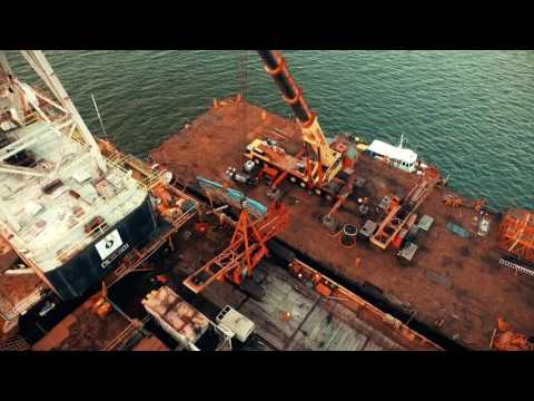 Recuperación Marina de grúas estructurales Auriga