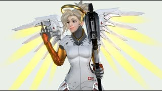 OVERWATCH TOP 1 PLAYER - Mercy's 5-Man res Play
