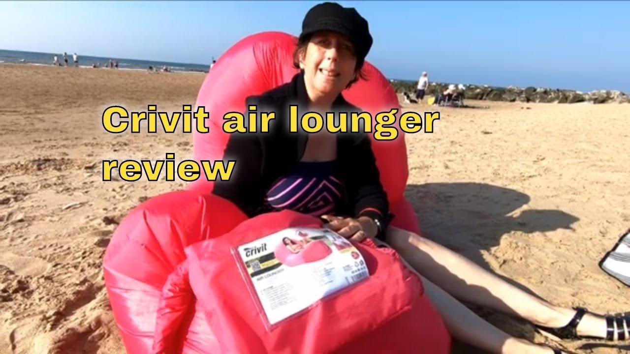 Aufblasen air lounger lidl Air Lounger