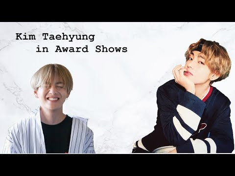 Kim Taehyung in Award Shows (BTS)