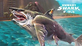Hungry Shark World - Megalodon | Biggest Shark Ever