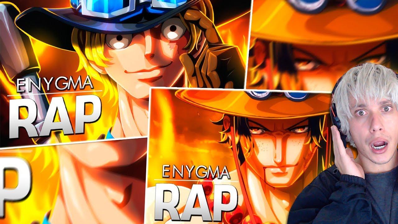 Rap Chama Ace e Liberdade Sabo ENYGMA One Piece REACT 2 em 1