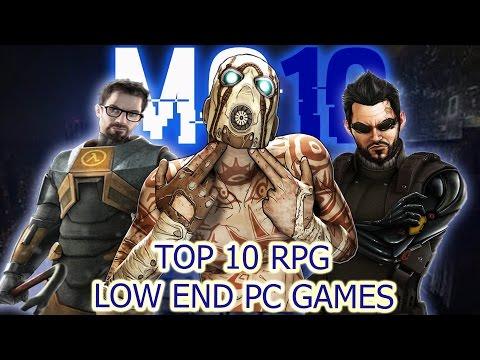 Top 10 Low End PC RPGs