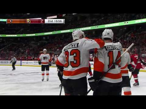 Sean Couturier Goal - Philadelphia Flyers vs Ottawa Senators (10/10/18)